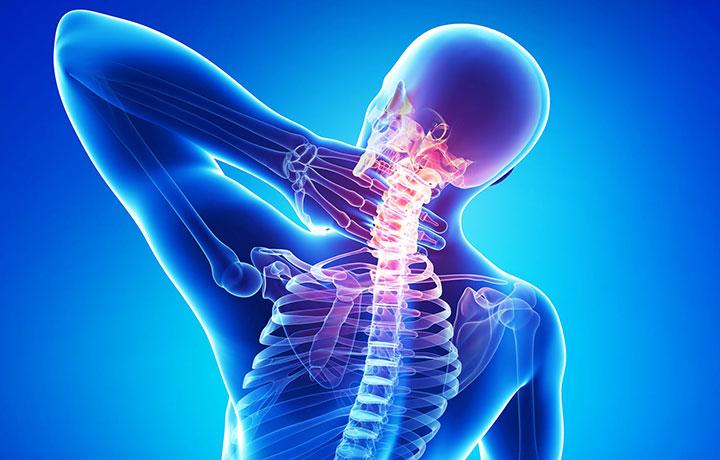 Боль в шеи при остеохондрозе