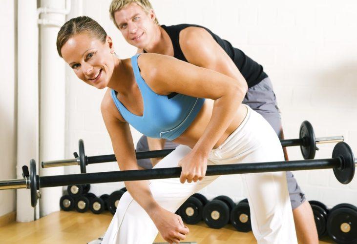 Упражнения с весом