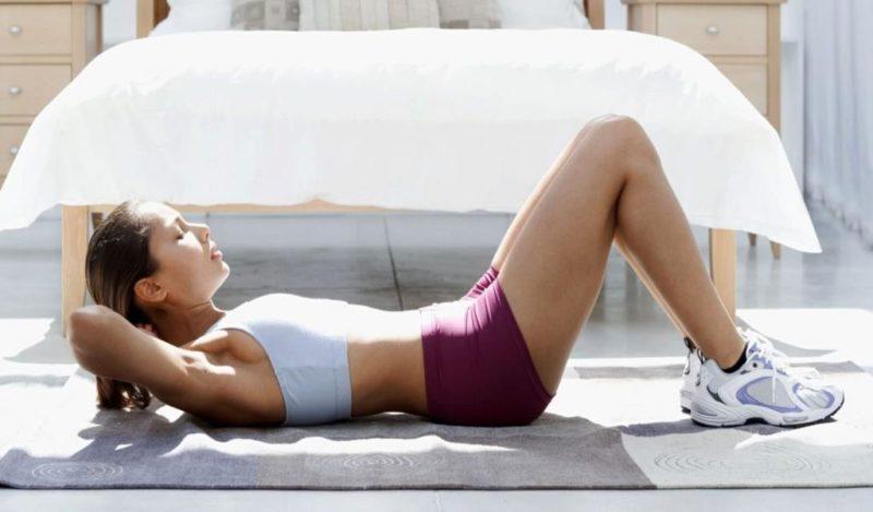 Вечерняя гимнастика при остеохондрозе