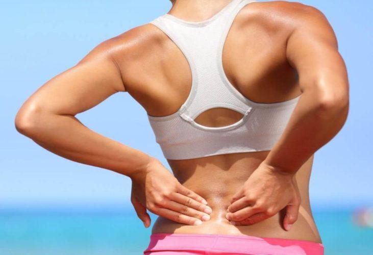 Болит спина после удара