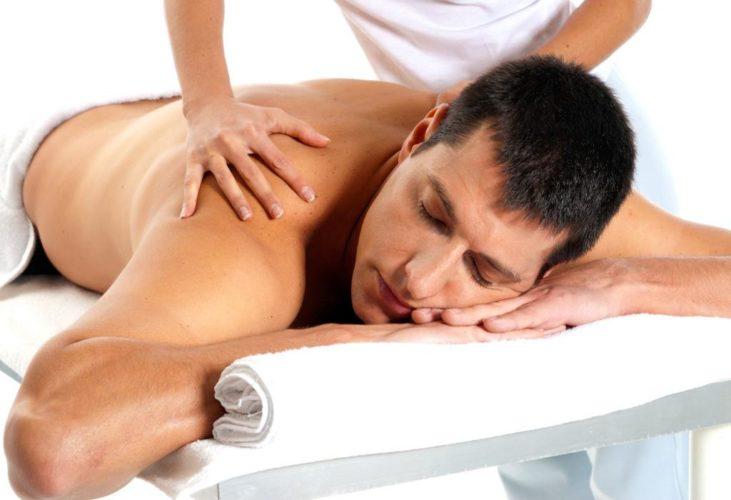 Массажные процедуры при остеохондрозе