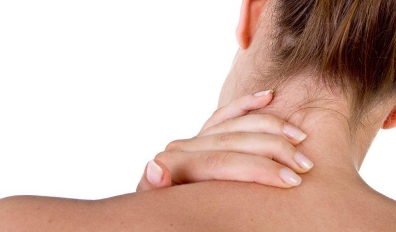 Острые боли в шейном отделе позвоночника
